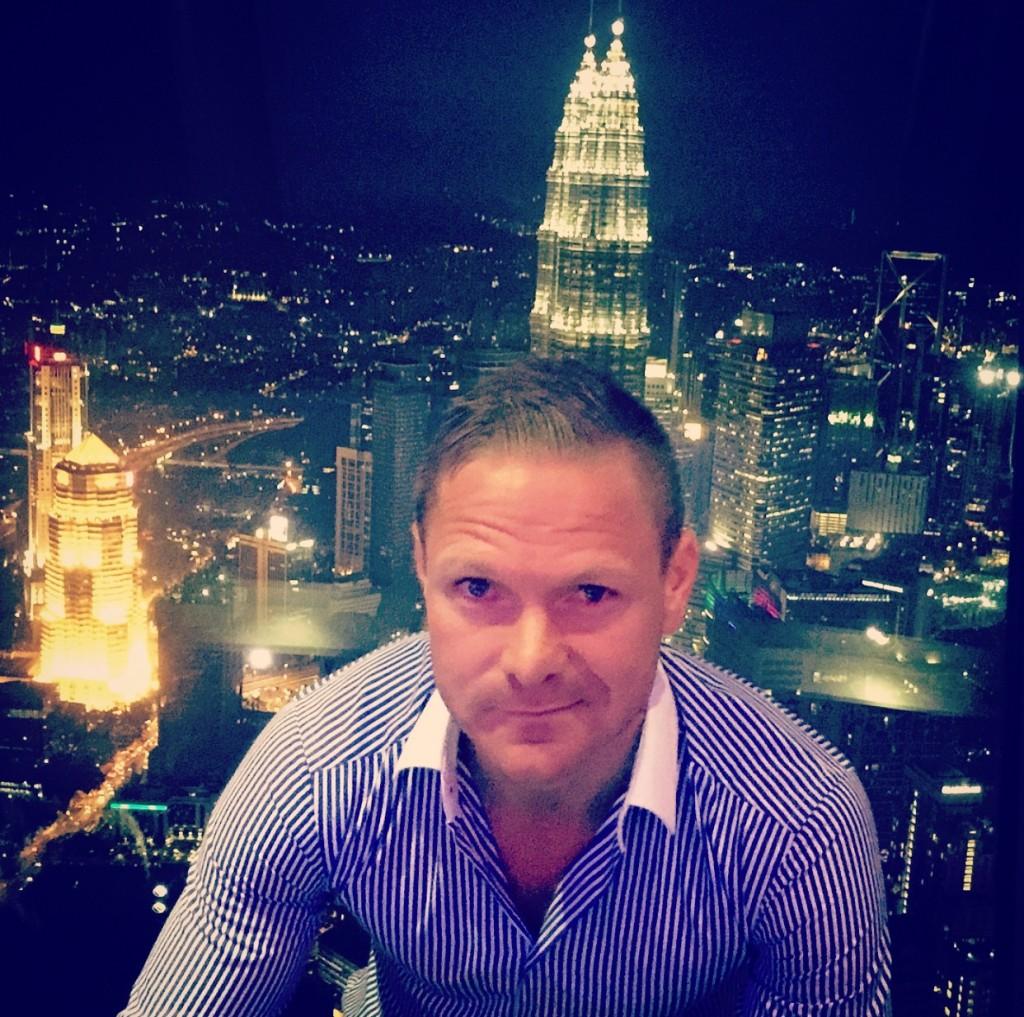 Spectacular view of Kuala Lumpur.