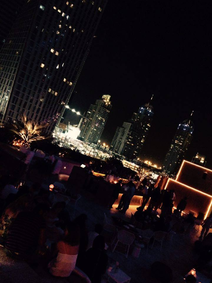 Rooftop bar Dubai