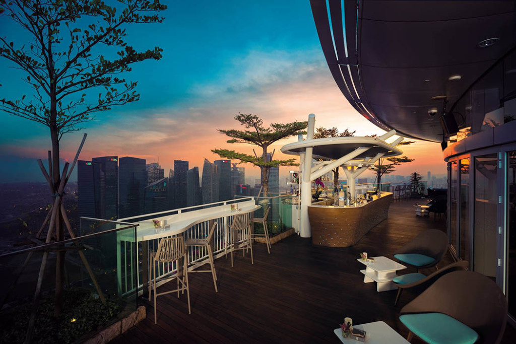 rooftop bars Singapore